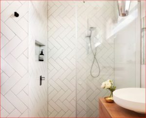 Subway tile in different patterns