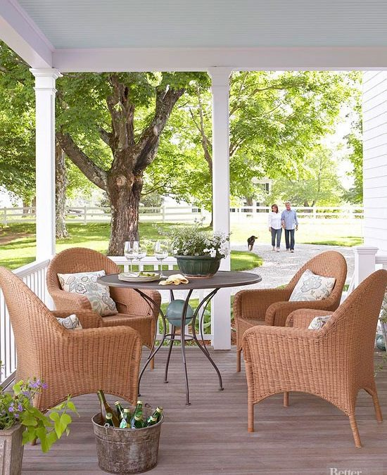 The Strange Reason Why Most Southern Porches Are Blue